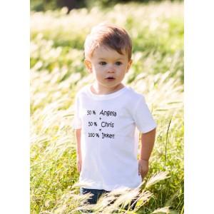 T-Shirt 100% Ikke (met je naam)