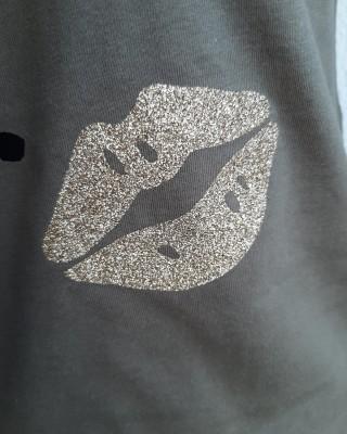 T-shirt Boss Up legergroen