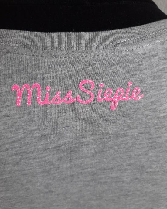 T-shirt Girl Boss GRL PWR grijs