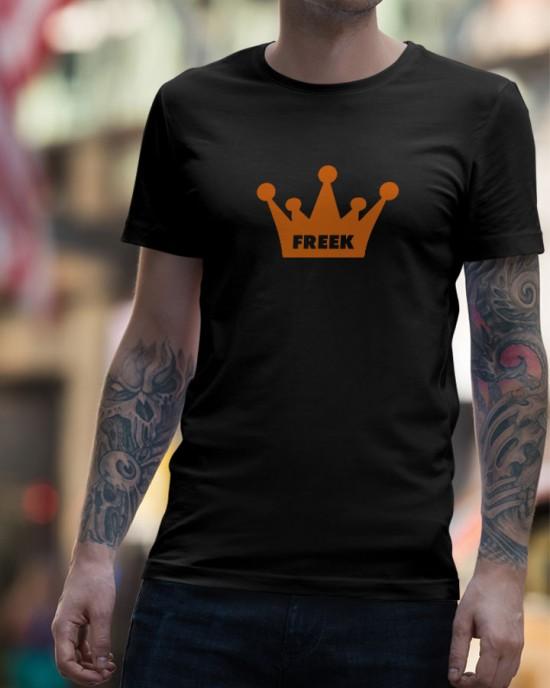 Kroon t-shirt (met je naam)